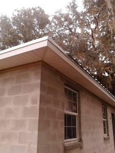soffit and fascia job
